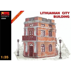 Miniart 35504 1/35 Lithuanian City Building