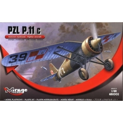 MIRAGE HOBBY 481002 1/48 PZL P.11c Fighter with Bombs Version