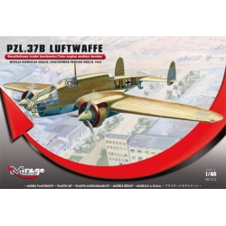 MIRAGE HOBBY 481312 1/48 PZL.37B Luftwaffe German Version