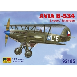 RS MODELS 92185 1/72 Avia B-534 1st version