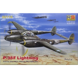 RS MODELS 92116 1/72 Lockheed P-38F Lightning