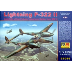 RS MODELS 92096 1/72 Lockheed P-322 II Lightning