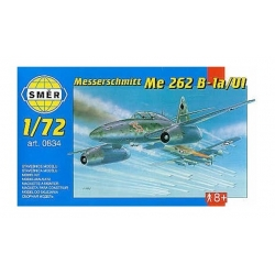 SMER 0834 1/72 Messerschmitt Me 262B1a/U1 avec Photo etched