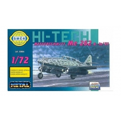 SMER 0884 1/72 Messerschmitt Me 262B-1A/U-1 With Etched Parts