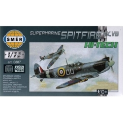 SMER 0887 1/72 Supermarine Spitfire Mk.VB With Etched