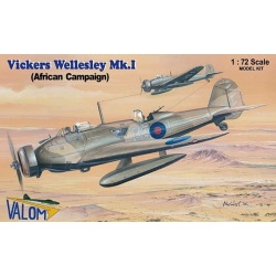 VALOM 72090 1/72 Vickers Wellesley Mk. I (African campaign)