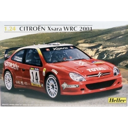 HELLER 80769 1/24 Citroën Xsara WRC 2001