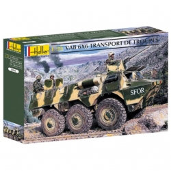 HELLER 81141 1/35 VAB 6X6 Transport De Troupes
