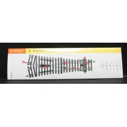 HORNBY R8076 OO 1/76 Aiguillage – Curve Radius Both Track 22,5 and 33,75 Degrees