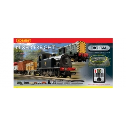 HORNBY R1126 OO 1/76 Mixed Freight Digital Train Set