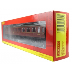 HORNBY R4411A OO 1/76 BR Hawksworth: (Post 1953) Brake 3rd in BR Maroon