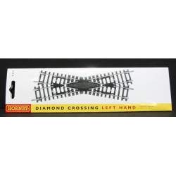 HORNBY R614 OO 1/76 Left Hand Diamond Crossing