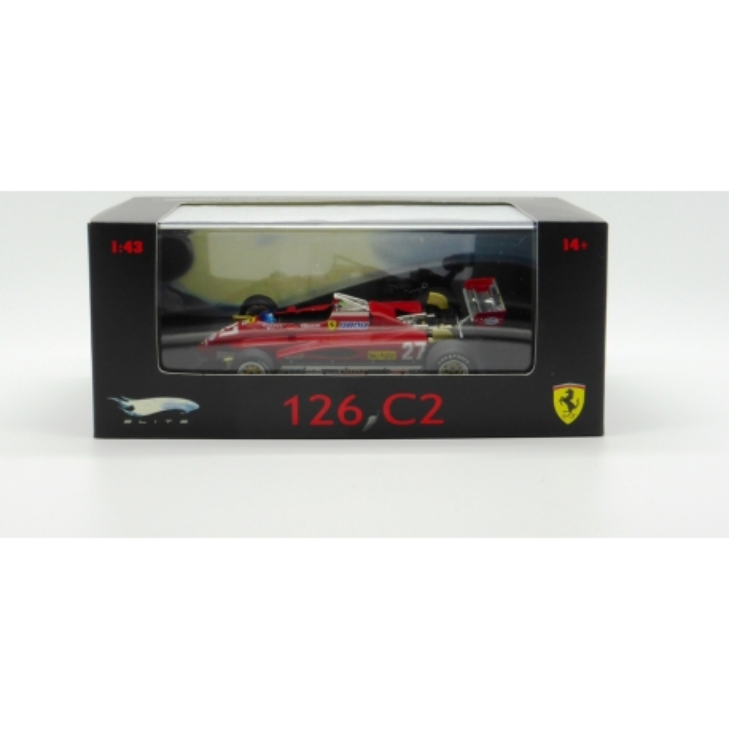 Hot Wheels N5580 1/43 Ferrari 126 C2 Villeneuve Imola