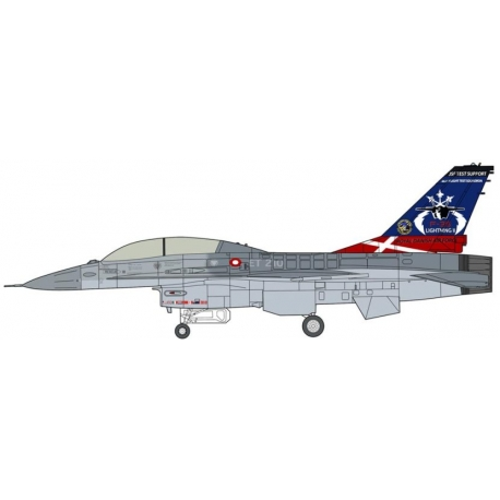 HASEGAWA 02095 1/72 F-16BM Fighting Falcon Test Support Limited Edition