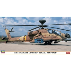 HASEGAWA 07365 1/48 AH-64D Apache Longbow Israel Air Force Limited Edition