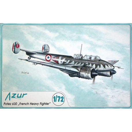AZUR A036 1/72 Potez 630 French Heavy Fighter