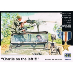 MasterBox MB35105 1/35 Charlie on the left Vietnam war kit series