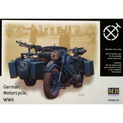 MasterBox MB3528 1/35 German Motorcycle WWII