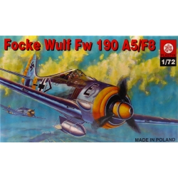 PLASTYK S013 1/72 Focke Wulf Fw 190 A5/F8