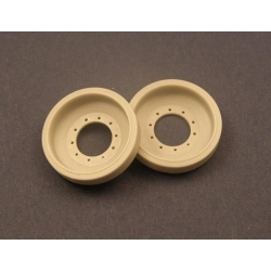 "PANZER ART RE35-070 1/35 Spare Wheels for British MBT ""Challenger 2"""