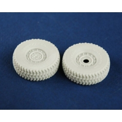PANZER ART RE35-212 1/35 Road wheels for HUMVEE (late pattern)