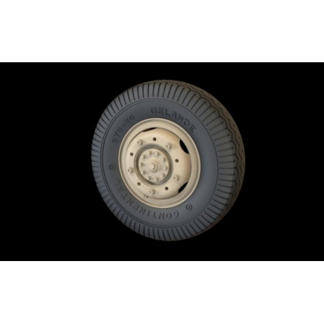 PANZER ART RE35-293 1/35 Road wheels Sd.Kfz 234 (Commercial A)