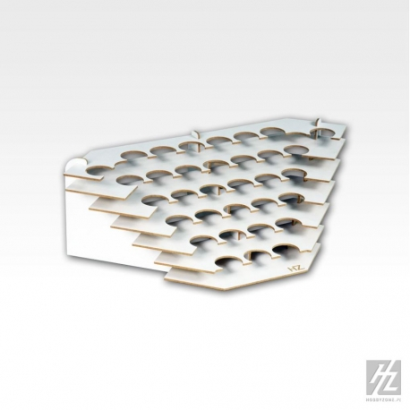 HOBBY ZONE HZ-S2Nb Corner Large Paint Stand For 36mm Jars