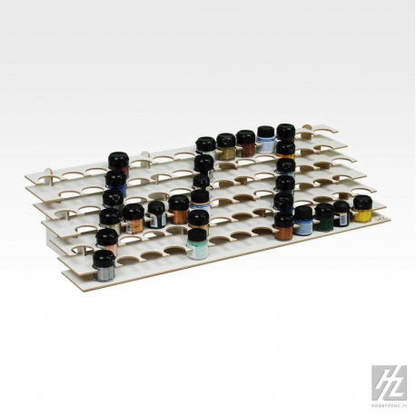 HOBBY ZONE HZ-S2b Large Paint Stand For 36mm Jars
