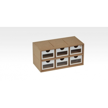 HOBBY ZONE HZ-OM01 Drawers Module x 6