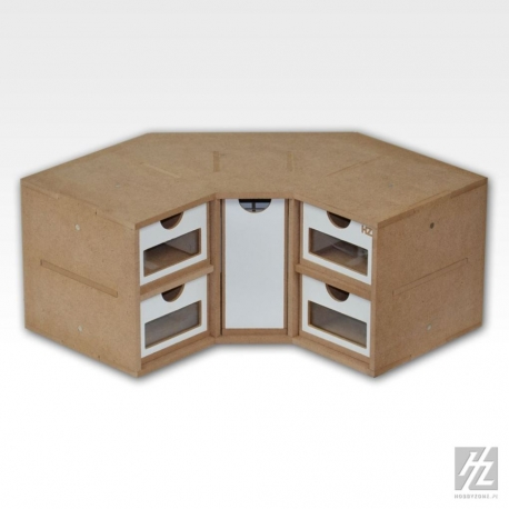 HOBBY ZONE HZ-OM03 Corner Drawers Module