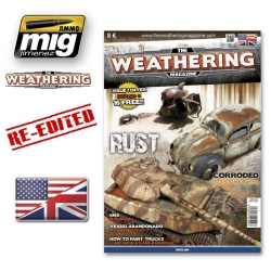 AMMO OF MIG A.MIG-4500 The Weathering Magazine Issue 1 Rouille - Rust Anglais