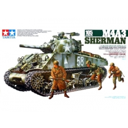 TAMIYA 35251 1/35 M4A3 Sherman 105mm Howitzer