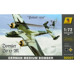 "RS MODELS 92027 1/72 Dornier Do 17 M German Medium Bomber ""Poland 1939"""
