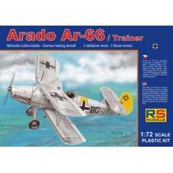 RS MODELS 92059 1/72 Arado Ar-66 Trainer Luftwaffe