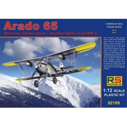 RS MODELS 92109 1/72 Arado Ar 65 Luftwaffe Schlepper