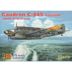 RS MODELS 92174 1/72 Caudron C-445 Goeland Luftwaffe and Slovak service