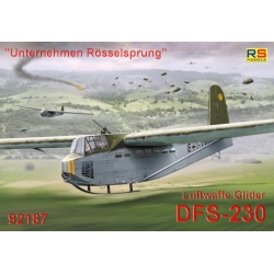 "RS MODELS 92187 1/72 ""Unternehmen Roesselsprung"" Luftwaffe Gilder DFS-230"