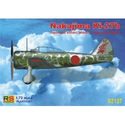RS MODELS 92137 1/72 Nakajima Ki-27b Japanese Fighter