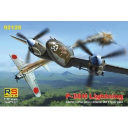 RS MODELS 92125 1/72 Lockheed P-38H Lightning