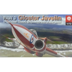 PLASTYK S056 1/72 FAW 9 Gloster Javelin Fighter Test Squadron A&AEE
