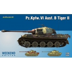 Eduard 3741 1/35 Pz.Kpfw.VI Ausf. B Tiger II Weekend Edition