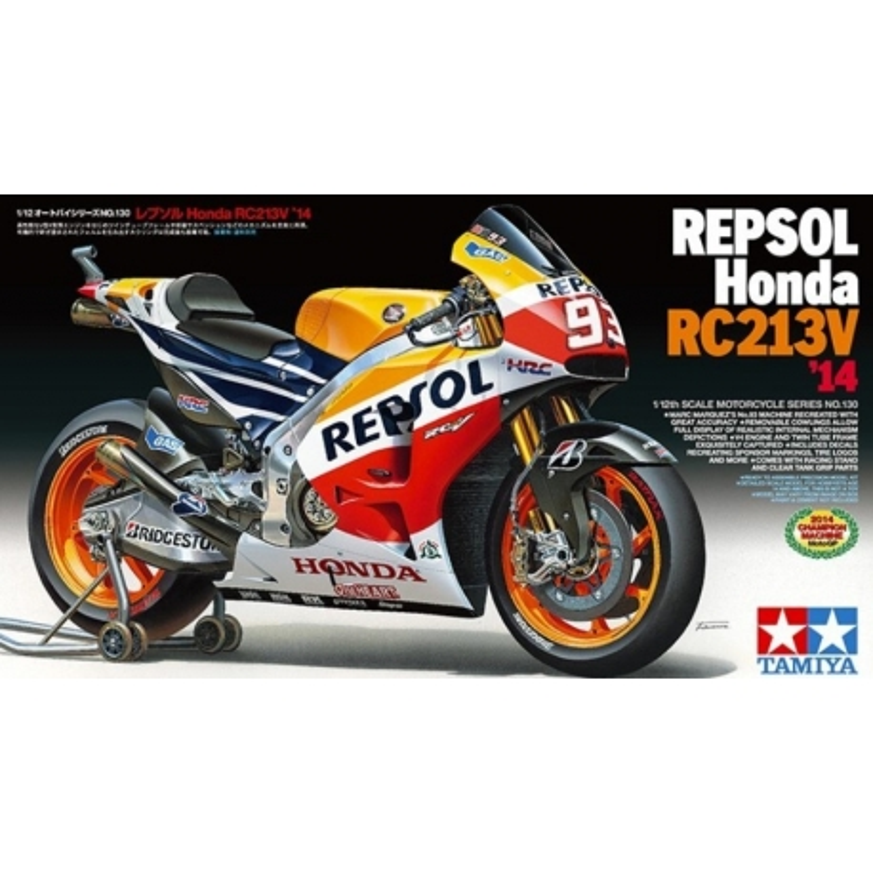 TAMIYA 14130 1/12 Repsol Honda RC213V '14