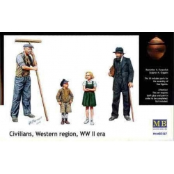 MasterBox MB03567 1/35 Civilians Western Region, WW II era