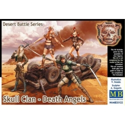 MasterBox MB35122 1/35 Skull Clan - Death Angels Dessert Battle Series