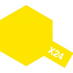 TAMIYA 81524 Peinture Acrylique X-24 Jaune Transparent / Clear Yellow 23ml