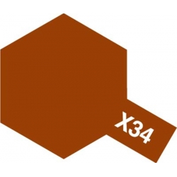 TAMIYA 81534 Peinture Acrylique X-34 Brun Métal / Mettalic Brown 23ml