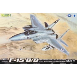 Great Wall Hobby L4815 1/48 F-15B/D Israeli Air Force & U.S. Air Force