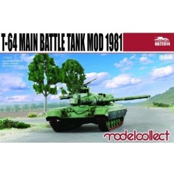 Modelcollect UA72014 1/72 T-64 Main Battle Tank Mod. 1981