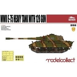 Modellcollect UA72029 1/72 German WWII E-75 Heavy Tank with 128 Gun