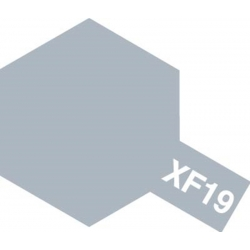 TAMIYA 81319 Peinture Acrylique 23ml XF-19 Gris Ciel Mat / Sky Grey